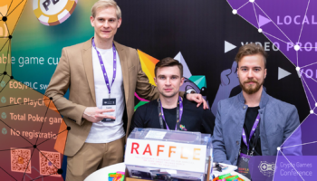 Как мы съездили на Crypto Games Conference 2019